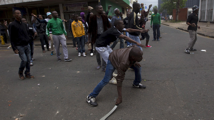Specter of apartheid in South Africa's violence