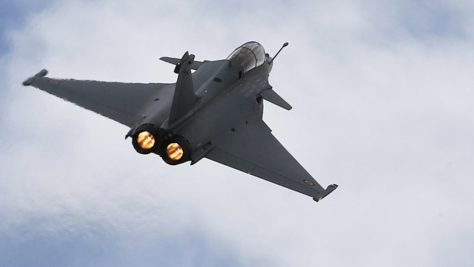 A Rafale fighter jet. (Reuters/Regis Duvignau)