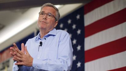 Former Florida Governor and probable 2016 Republican presidential candidate Jeb Bush (Reuters / Brian Snyder)
