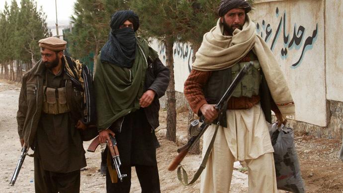 Taliban fighters (Reuters / Mohammad Shoib)