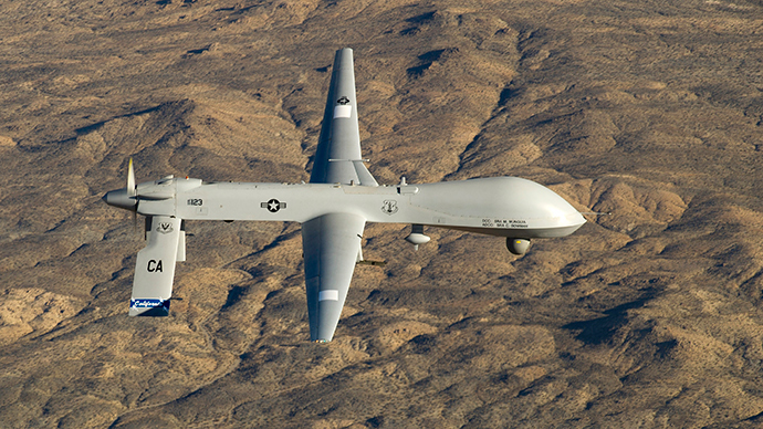'The more civilians US drones kill in the Mideast, the more radicals they create'