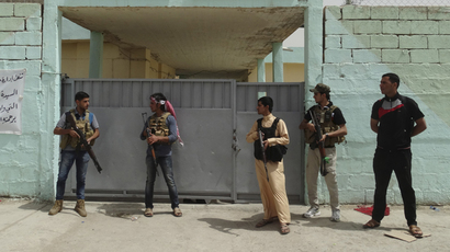 Sunni tribal fighters. (Reuters/Stringer)