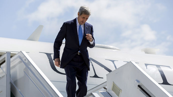 'Kerry's Russia visit shows US seeks to soothe relations'