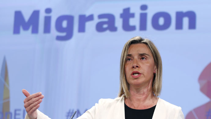 European Union foreign policy chief Federica Mogherini (Reuters/Francois Lenoir)