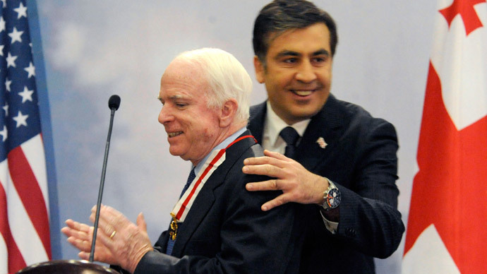 McCain advising Ukraine? It's totally insane!