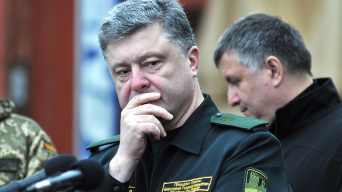 Ukrainian President Petro Poroshenko (RIA Novosti / Stringer)