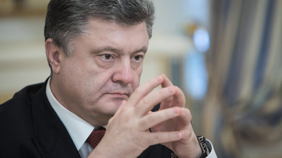 'Poroshenko's political life hangs in the balance'