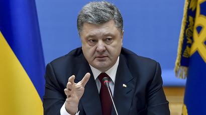 Ukrainian President Petro Poroshenko (RIA Novosti / Nikolay Lazarenko)