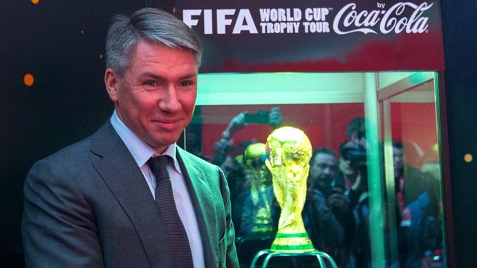 Alexei Sorokin, general director of the 2018 FIFA World Cup Organizing Committee (RIA Novosti / Alexander Vilf)