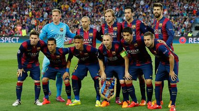 Forget FIFA scandal, FC Barcelona steals the show