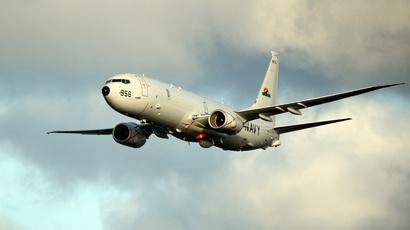 A P-8A Poseidon surveillance plane (Reuters / U.S. Navy / Mass Communication Specialist 3rd Class Daniel J. Meshel / Handout)