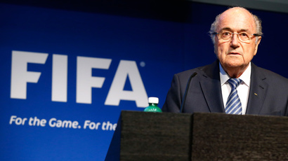 FIFA President Sepp Blatter (Reuters / Ruben Sprich)