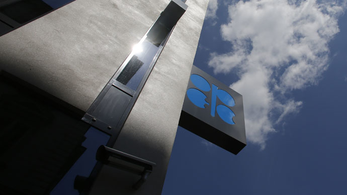A general view of the OPEC building and logo in Vienna (Reuters/Leonhard Foeger)