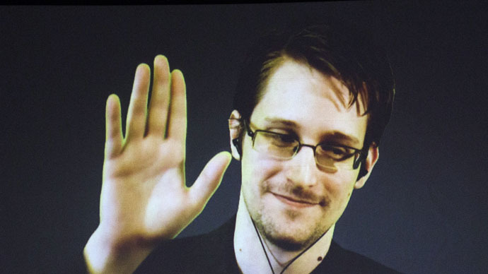 Former U.S. National Security Agency contractor Edward Snowden (Reuters/Mark Blinch)