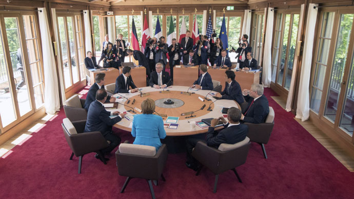 ​Gee - What a load of hypocrisy and humbug at the G7!