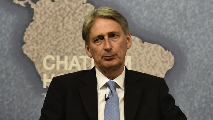 Britain's Foreign Secretary Philip Hammond (Reuters/Toby Melville)