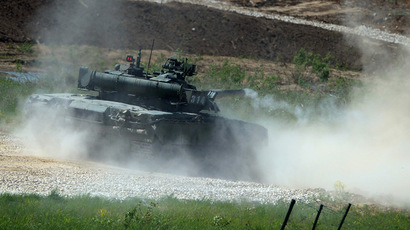 T-80 tank. (RIA Novosti / Evgeny Biyatov)