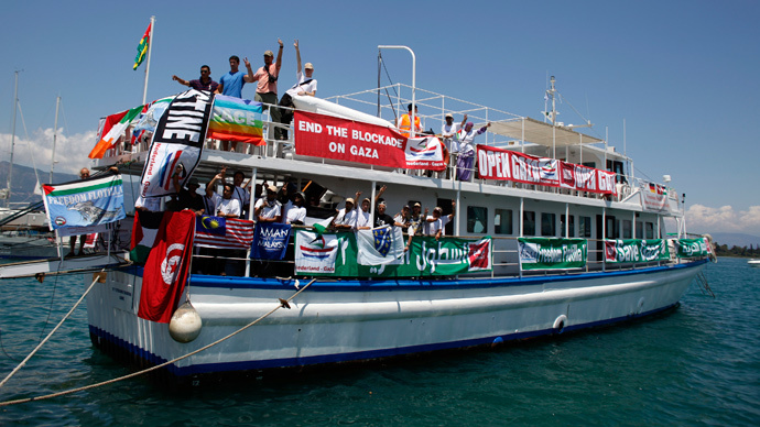 If Israel was a democracy, Freedom Flotilla would be allowed to Gaza