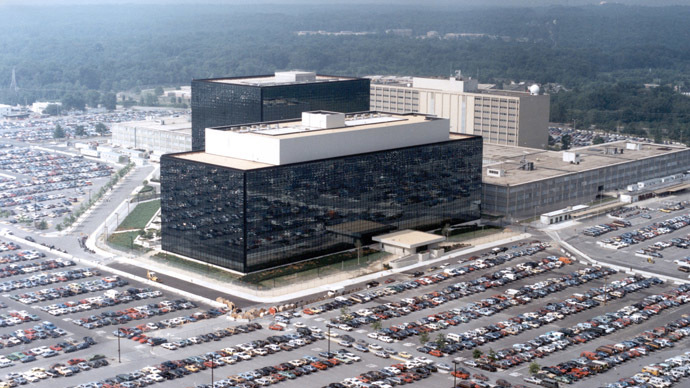 An undated aerial handout photo shows the National Security Agency (NSA) headquarters building in Fort Meade, Maryland (Reuters / NSA)