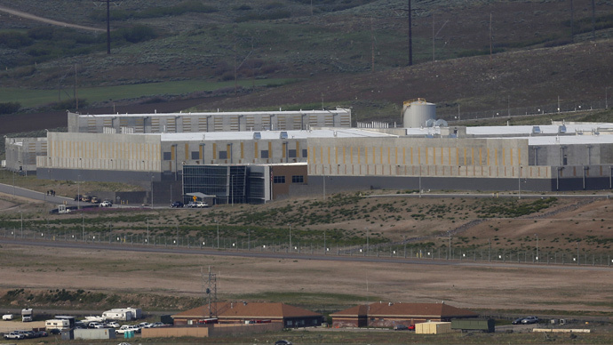 A National Security Agency (NSA) data gathering facility is seen in Bluffdale, Utah (Reuters / Jim Urquhart)