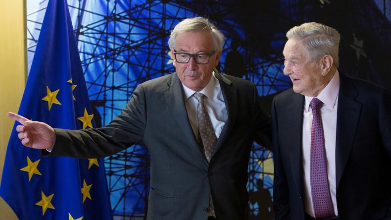 Pour Georges Soros, l'Union européenne est en «temps de guerre»