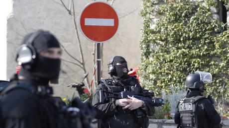 Des membres du service d'intervention du RAID en mars 2017 à Grasse, illustration