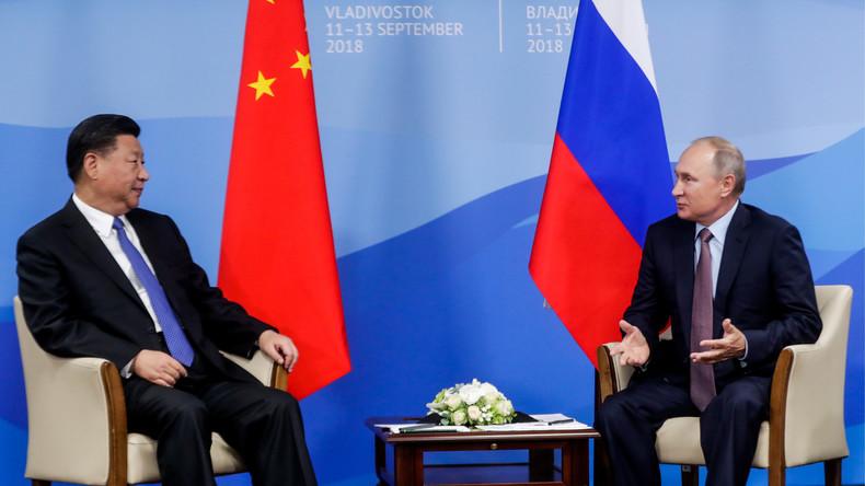 La Russie et la Chine annoncent leur volonté de passer aux devises nationales dans leurs échanges