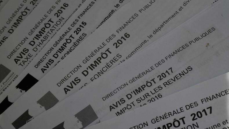 Explosion de la fraude fiscale en France, estimée à 100 milliards d'euros annuels