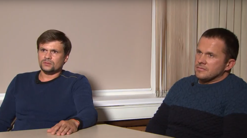 Les suspects de l'affaire Skripal se confient à RT (INTERVIEW EXCLUSIVE COMPLETE)