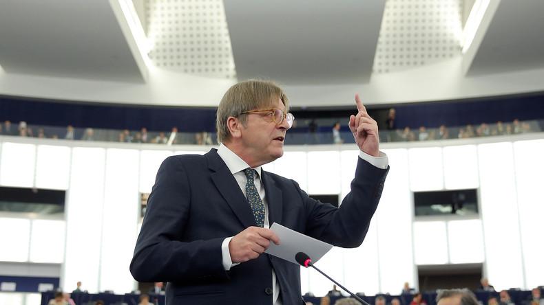 L'européiste belge Guy Verhofstadt veut-il faire bombarder la Hongrie ?