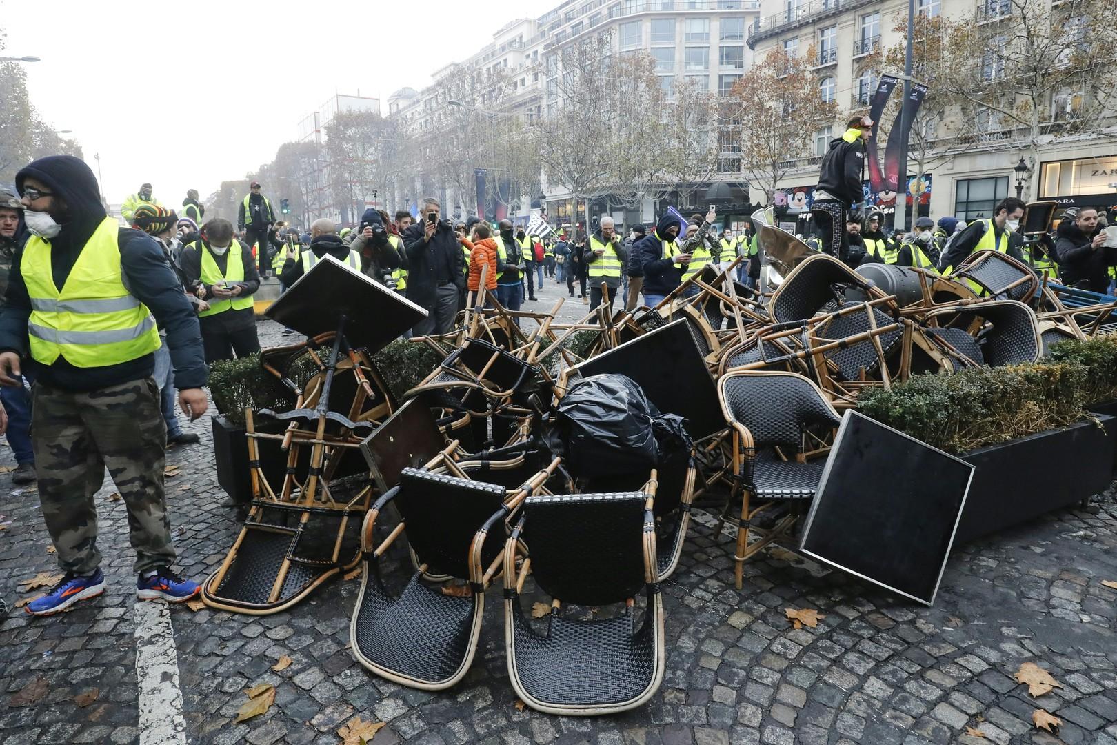 foto de Acte 2 du mouvement des Gilets jaunes : la mobilisation amenée à se prolonger Un peu d'air frais