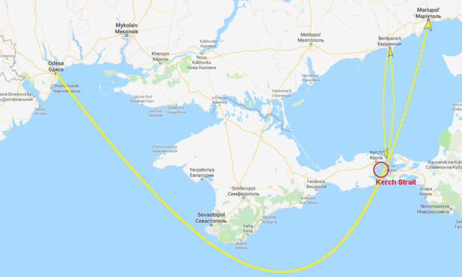 Navires ukrainiens arraisonnés près de la Crimée : vives tensions entre Moscou et Kiev (EN CONTINU)