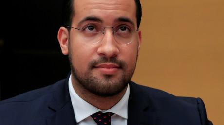 L'ancien collaborateur d'Emmanuel Macron Alexandre Benalla.