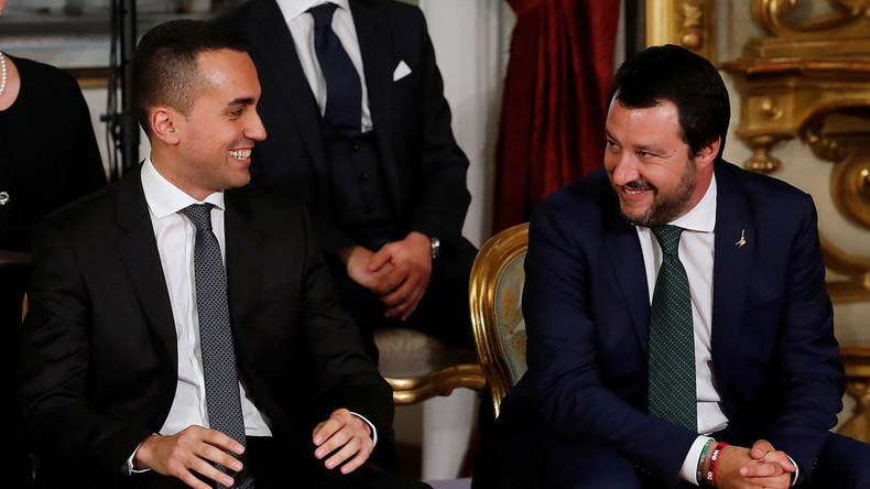 Le gouvernement italien apporte son soutien aux Gilets jaunes français