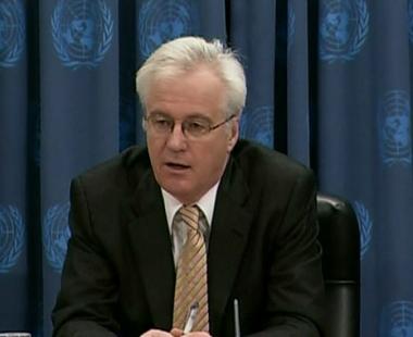 تشوركين ينتقد رفض طهران أجراء مفاوضات مع الدول ال6