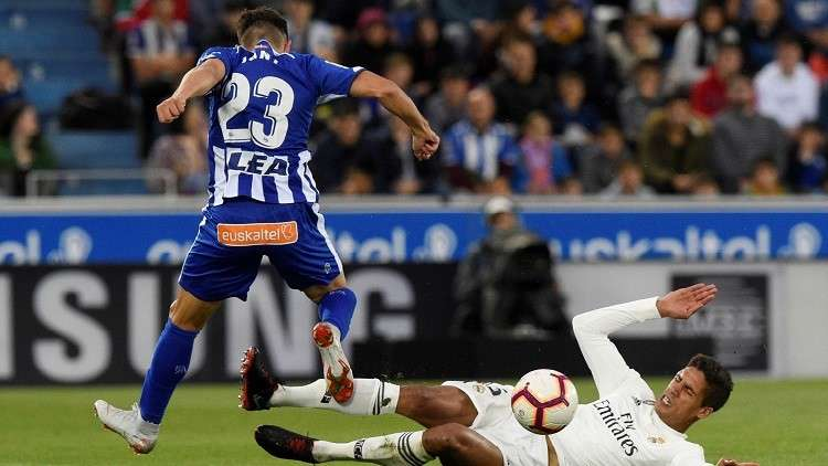 ألافيس يلدغ ريال مدريد في الوقت القاتل (فيديو)