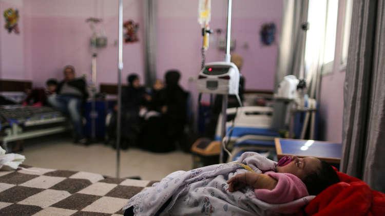 وفيات في غزة بسبب