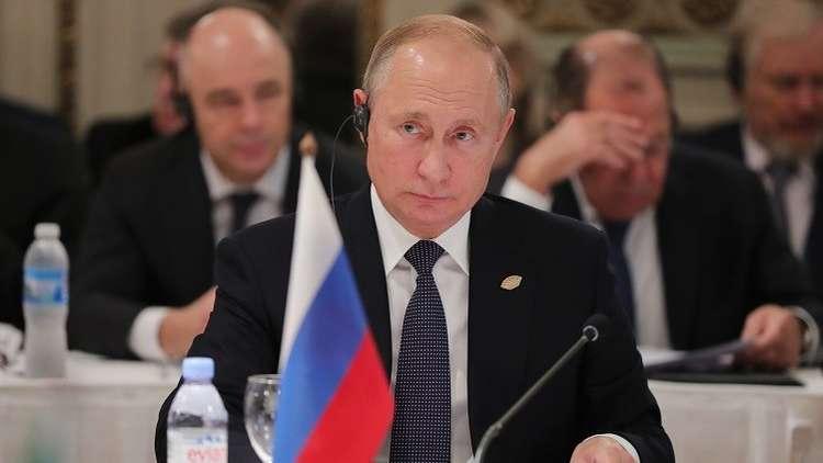 بوتين: لا يجوز تمرير استخدام الإرهابيين