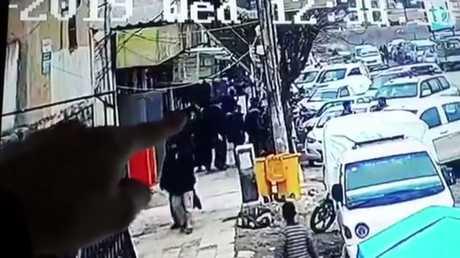 صورة انتحاري مشتبه بتفجيره مطعما في منبج قبيل العملية