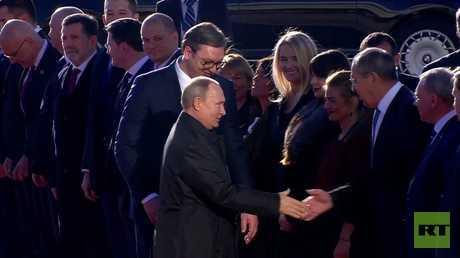 بوتين لنظيره الصربي أثناء ترحيب الوفدين الحكوميين: هنا تنتهي مهمتي