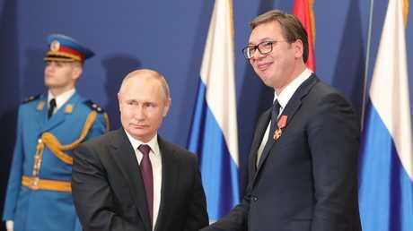 """بوتين: مستعدون لاستثمار 1.4 مليار دولار في مد """"السيل التركي"""" عبر صربيا"""
