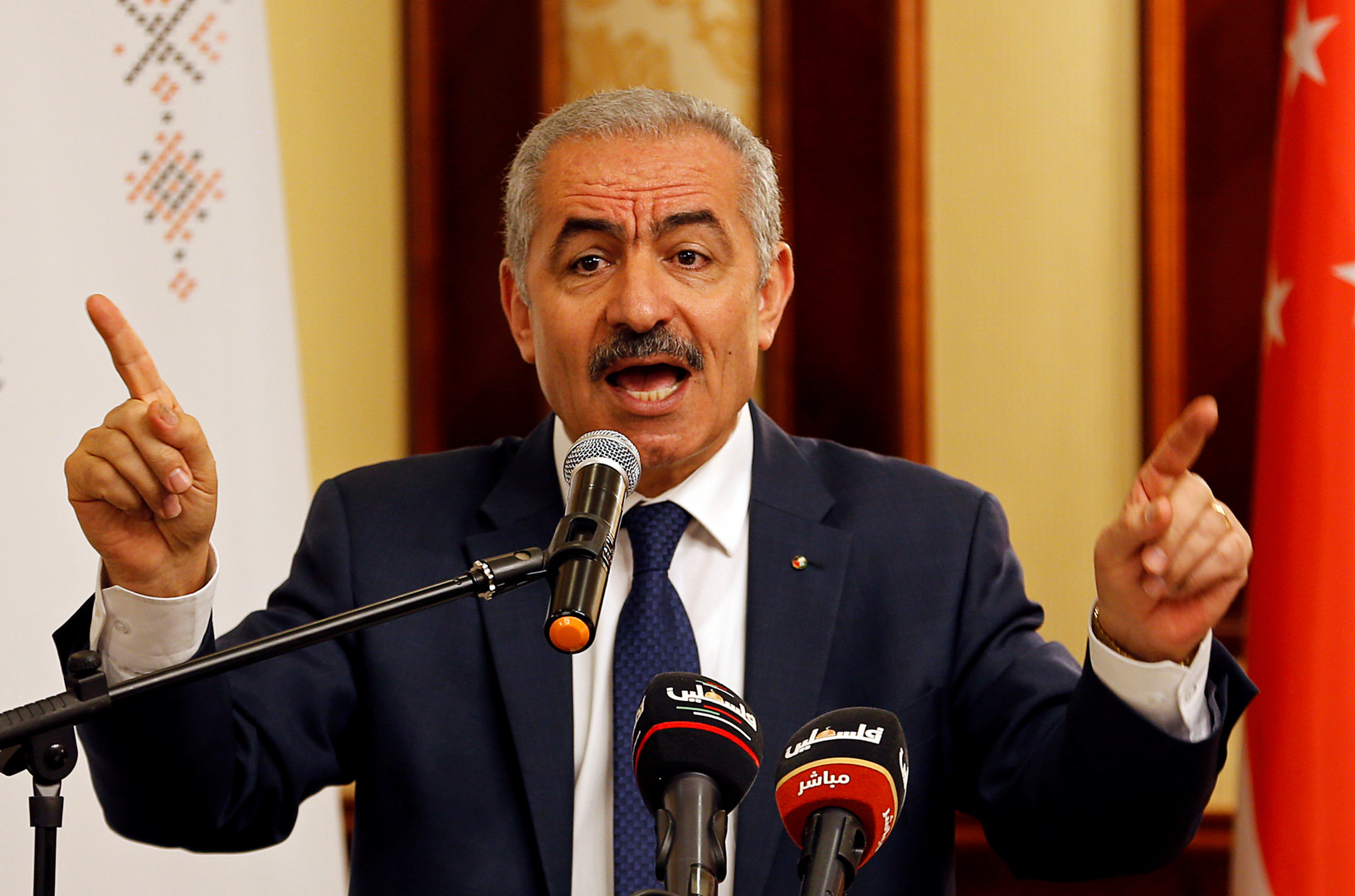 اشتيه يعلن تشكيل لجنة لتنفيذ قرار تعليق الاتفاقيات مع إسرائيل