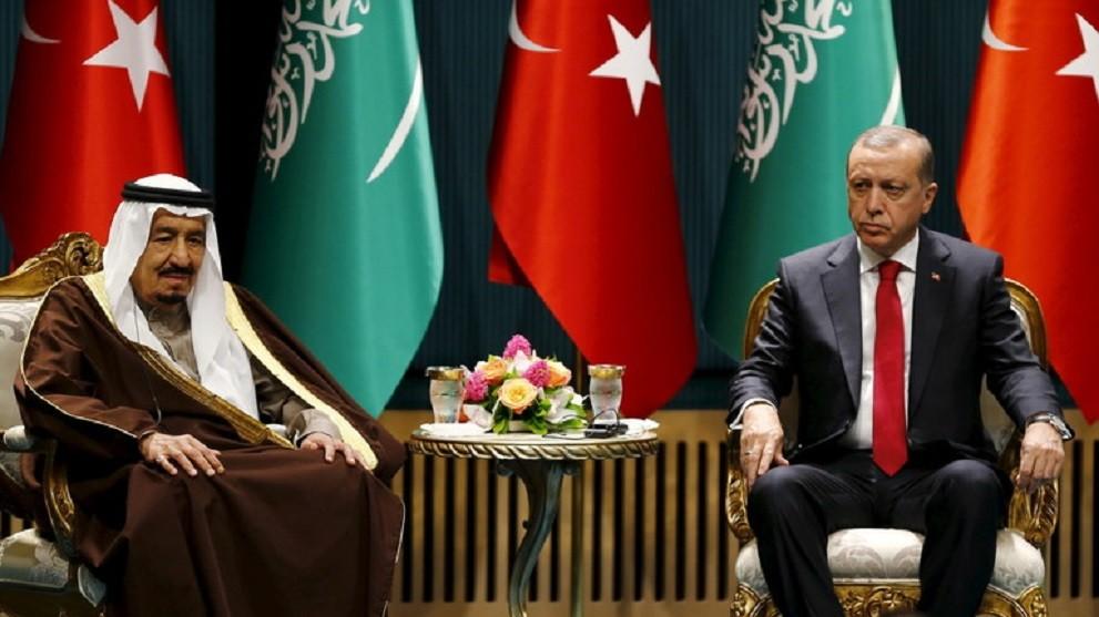 استراتيجية سعودية للإطاحة بأردوغان