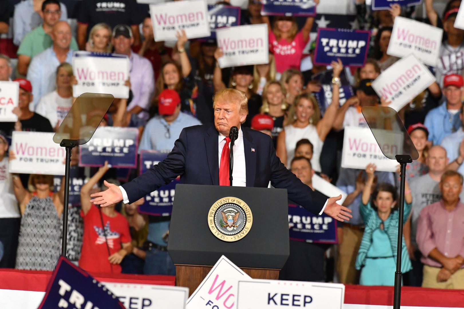 لماذا تزداد شعبية ترامب في الولايات المتحدة؟