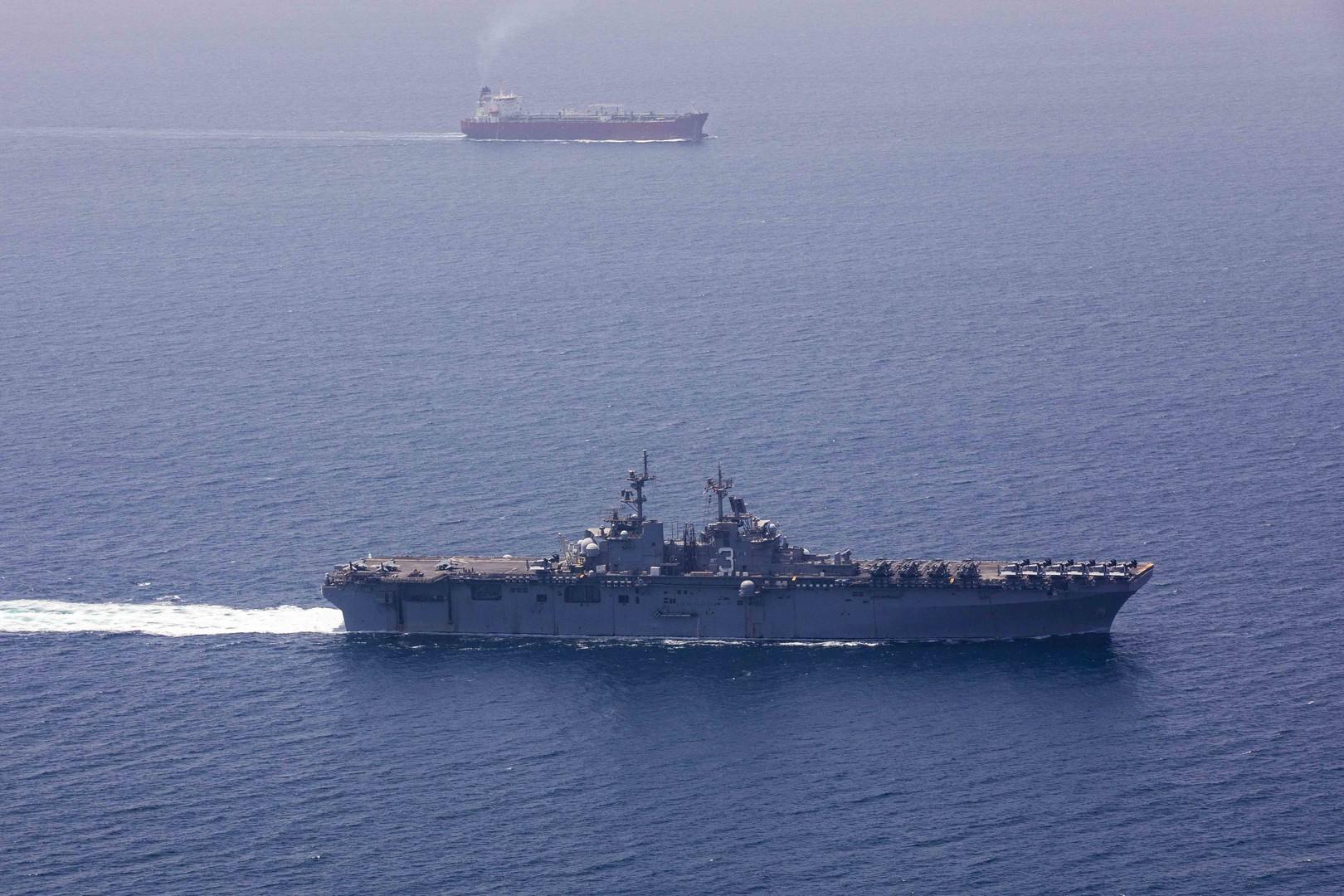 الولايات المتحدة ستندم على ظهور قوات بحرية صينية في الخليج