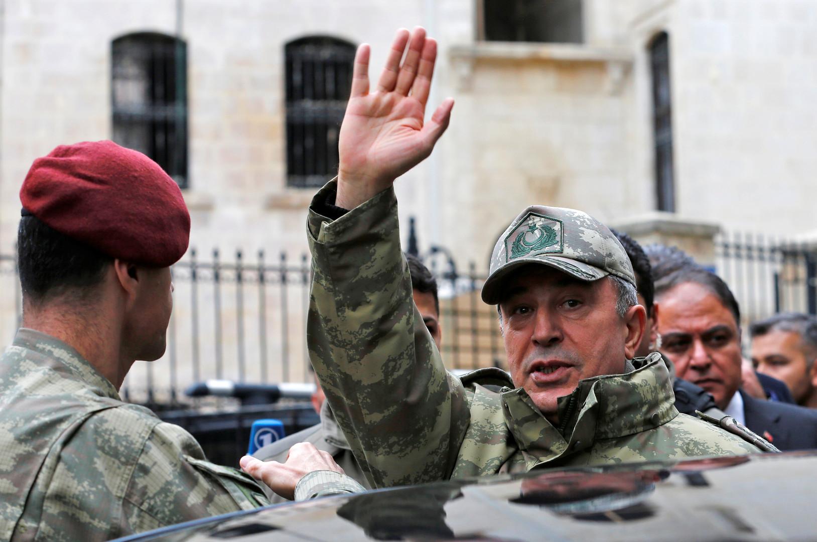 تركيا تصر على المنطقة الآمنة في سوريا بعرض 30-40 كيلومترا