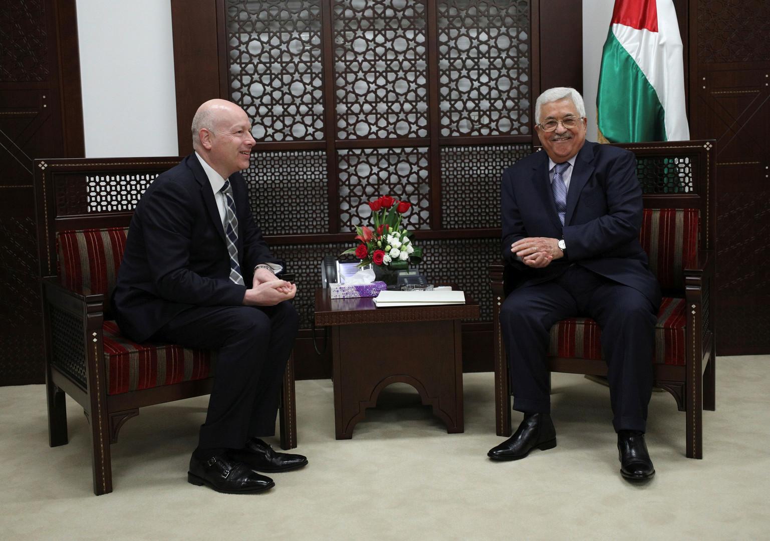 غرينبلات يتحدث عن مصير النظام الفلسطيني في ظل