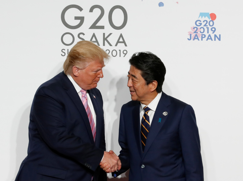 ترامب يلجأ لليابان لبيع منتجاته الزراعية