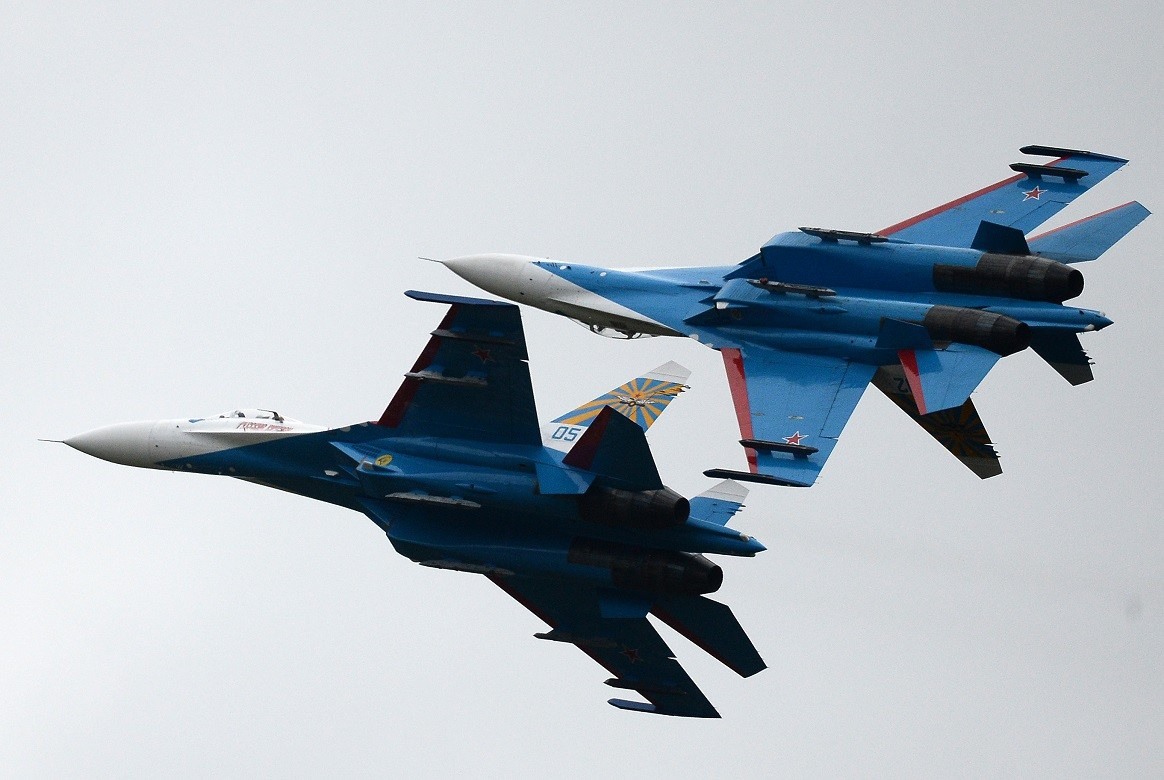 """طائرات """"سو-27"""" الروسية"""