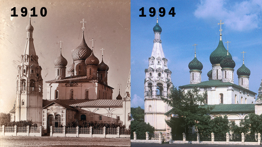Yaroslavl's defining monument: Church of the Prophet Elijah - Russia Beyond